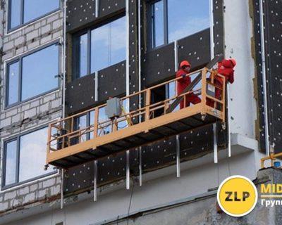 Строительная подвесная платформа в современном строительстве