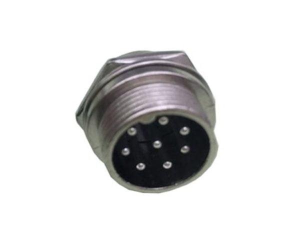 Кабельная вилка 2.5 мм d-32/8pin