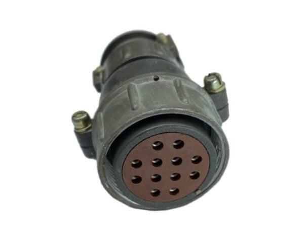 Кабельная розетка 1.5 мм, d-32/12pin