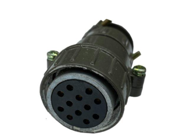 Кабельная розетка d-32/12pin 2.5 мм, (6*2.5 мм + 6*1.5 мм)