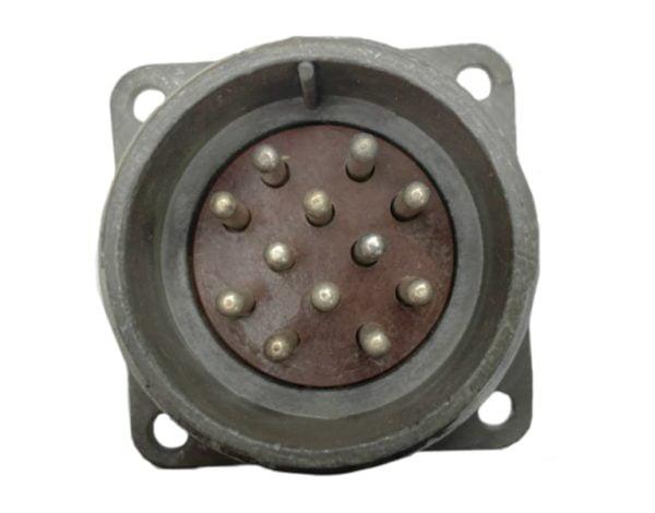 Щитовая вилка 2.5 мм d-32/12pin