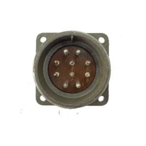 Щитовая вилка d-32/10pin (4*2.5 мм + 6*1.5 мм)