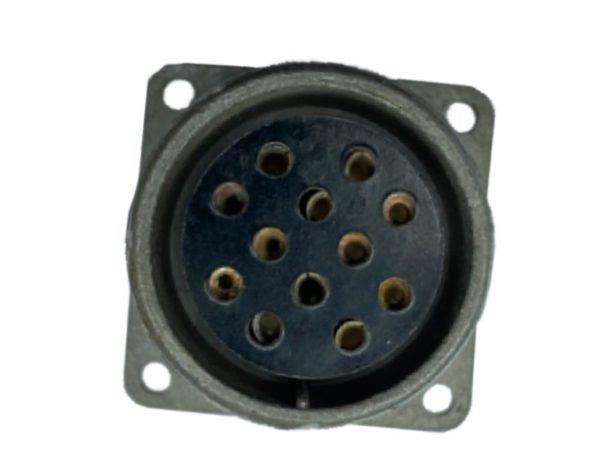 Щитовая розетка 2.5 мм, d-32/12pin (6*2.5 мм + 6*1.5 мм)