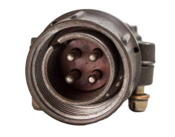 Кабельная вилка 2.5 мм d-20/4pin