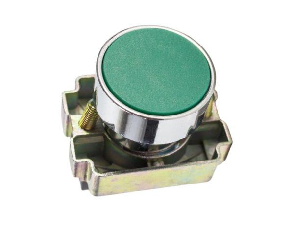 Кнопка «Пуск» в щиток управления люльки