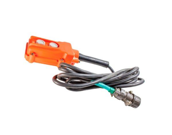 Пульт управления на 2 кнопки с кабелем и разъемом