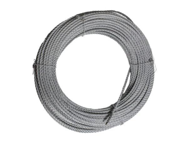 Трос стальной 8.3mm, длинной 100 м для строительной люльки ZLP 630