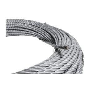 Трос стальной 8.3mm, длинной 133 м для строительной люльки ZLP 630