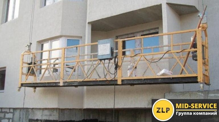Использование строительных люлек в современном строительстве