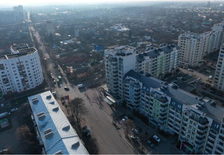Использование строительных люлек в Вишневом